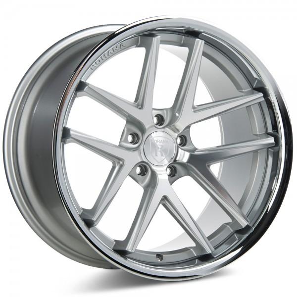 Rohana RC9 Machine Silver Aluminiumfelge für Deinen Nissan