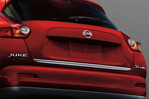 Nissan Chrom Heckklappenleiste für Nissan Juke