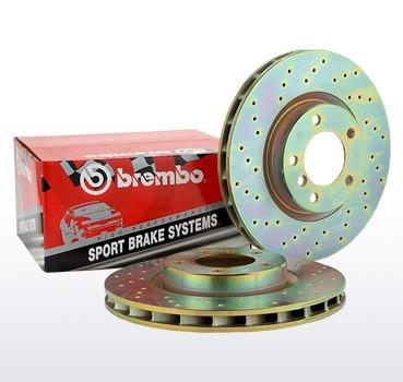 Brembo Bremscheiben VA für Nissan 350Z