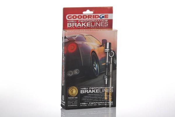 Stahlflex Bremsleitungen für Nissan GT-R