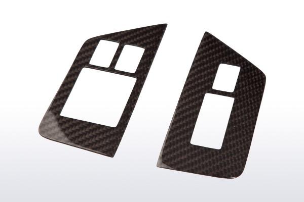 Carbon Schalterumrandung für Nissan GT-R R35