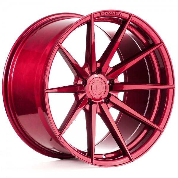 Rohana RF1 Gloss Red Aluminiumfelge für Deinen Nissan
