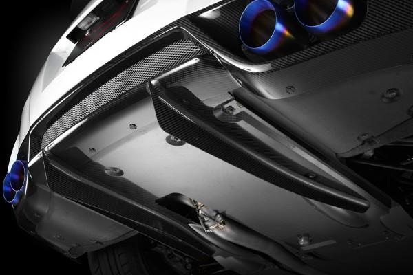 Mines Carbon Diffusor für Nissan GT-R R35