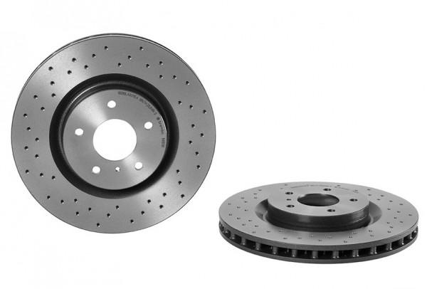 Brembo Bremsscheiben gelocht für Nissan 350Z vorn