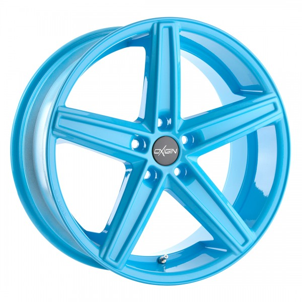 Nissan 350Z 370Z Oxigin 18 Concave Neon Blue