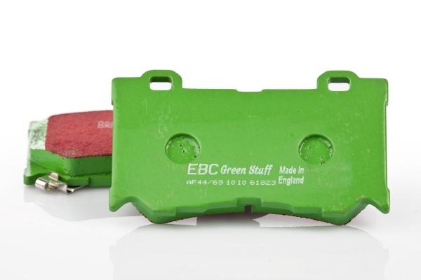 EBC Greenstuff Bremsbeläge VA für Nissan 370Z