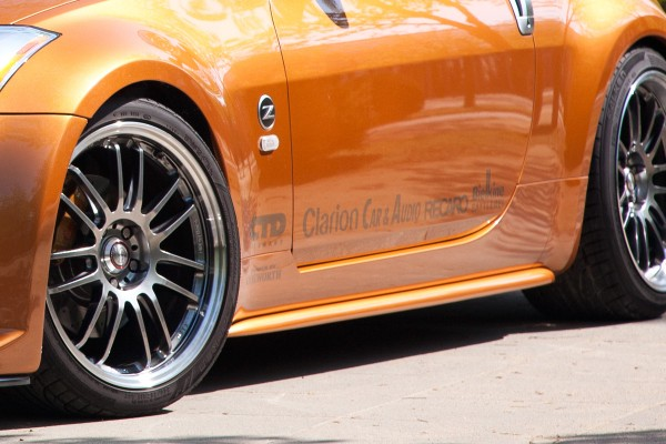 Strosek Seitenschweller für Nissan 350Z
