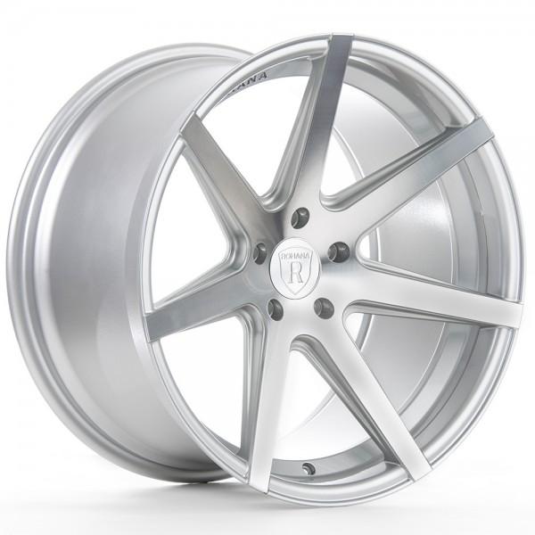 Rohana RC7 Machine Silver Aluminiumfelge für Deinen Nissan