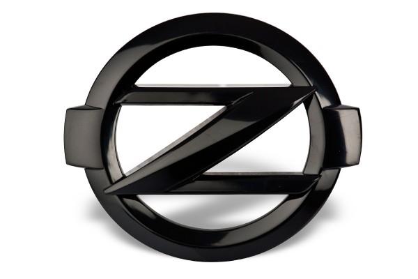 Hauben/Heck Z Emblem Black für Nissan 370Z