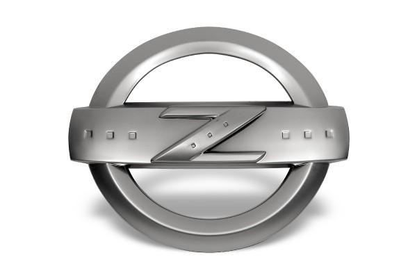 Nissan 350Z Z Emblem Satin
