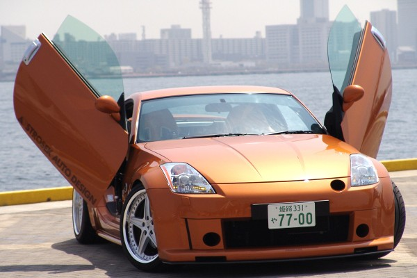 Flügeltürenumbaukit für Nissan 350Z