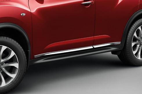 Nissan Chrom Seitenschutzleisten für Nissan Juke