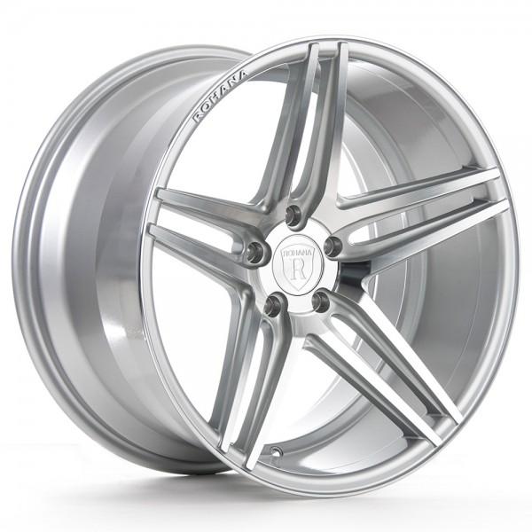 Rohana RC8 Machine Silver Aluminiumfelge für Deinen Nissan