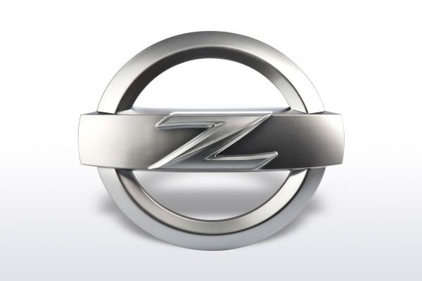 Hauben/Heck Z Emblem Satin für Nissan 370Z