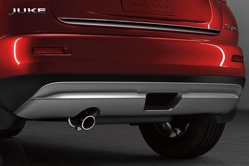 Nissan Heck Unterbodenschutz