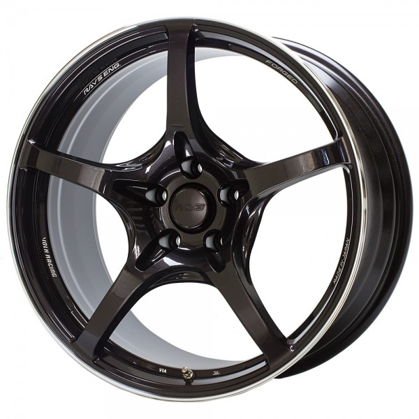 Volk Racing G50 Dark Purple Gunmetal Rim Edge DC