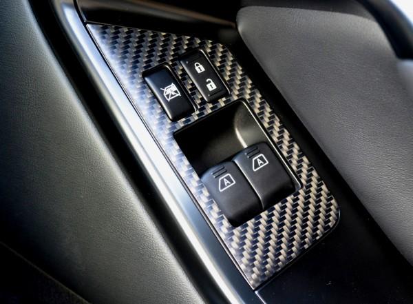 Nissan GTR Schalter Abdeckung Carbon