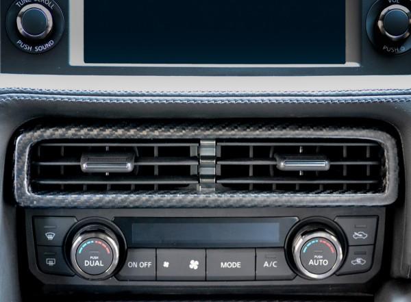 Nissan GTR Lüftungsdüsen Cover Carbon