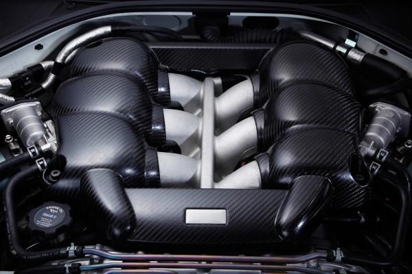 Mines Carbon Motorabdeckung für Nissan GT-R R35